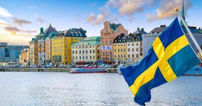 Stockholm - der Hafen von der Fähre aus gesehen
