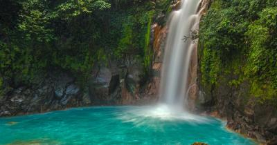 Costa Rico - Rio Celest Wasserfall