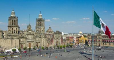 Mexico-Stadt - Zocalo