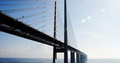 Malmö - die Grenzbrücke