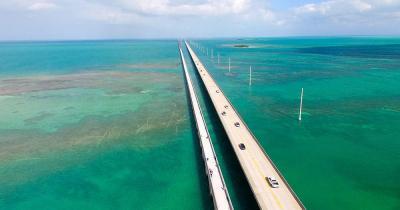 Key West - die Brücke über die Keys