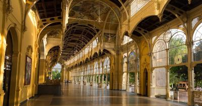 Marienbad - Säulenhalle