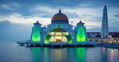 Malakka - Masjid Selat Moschee