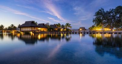 Fidschi Inseln- Sonnenuntergang