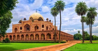 Delhi - Humayun-Mausoleum