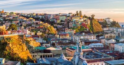 Valparaiso - Blick auf die Stadt