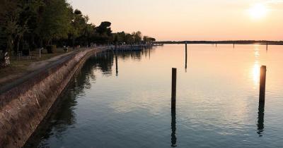 Bibione - Blick auf die Lagune