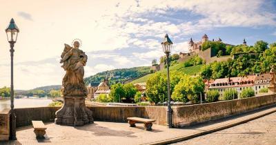 Würzburg - Blick auf die Festung