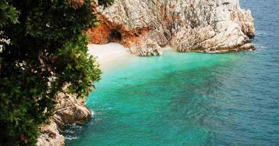 Losinj - Blick auf das traumhafte Meer
