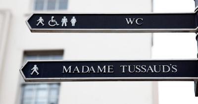 Madame Tussauds - Straßenschilder