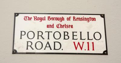 Portobello Road Market - Straßenschild