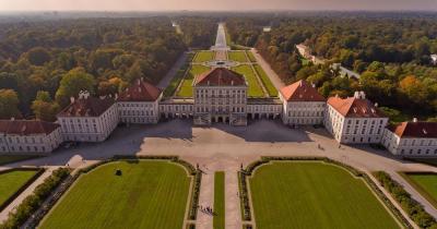 Schloss Nymphenburg - Vogelperspektive