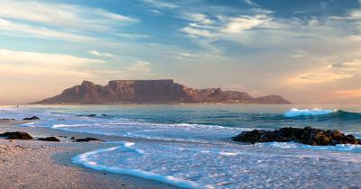 Kapstadt - Table Mountain an der Küste