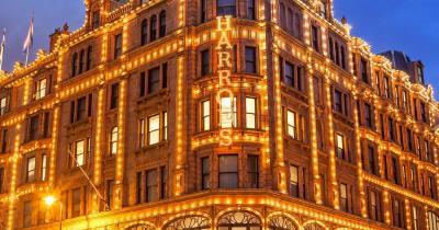 Harrods - Weihnachtsbeleuchtung