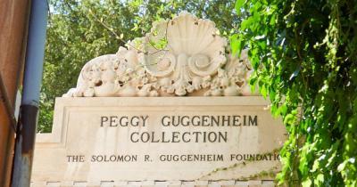 Peggy Guggenheim Collection - Schriftzug