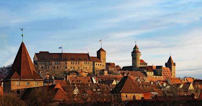 Kaiserburg Nürnberg - Panorama