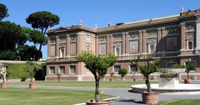 Vatikanische Museen - Aussenansicht