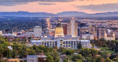 Salt Lake City - Bei Sonnenuntergang