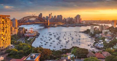 Sydney - Die Bucht von Sydney