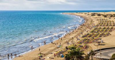 Playa del Inglés - maspalomas canary
