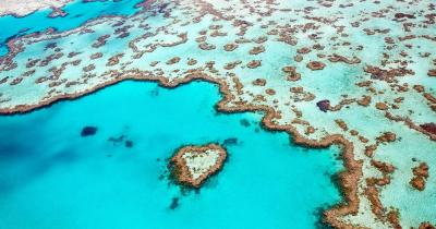 Great Barrier Reef - Vogelperspektive