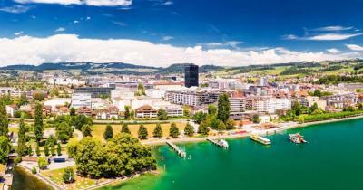 Zug - Panoramablick