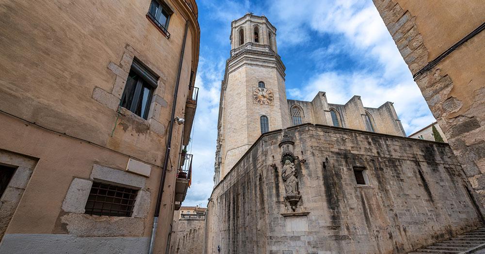 Girona - Turm der Kathedrale
