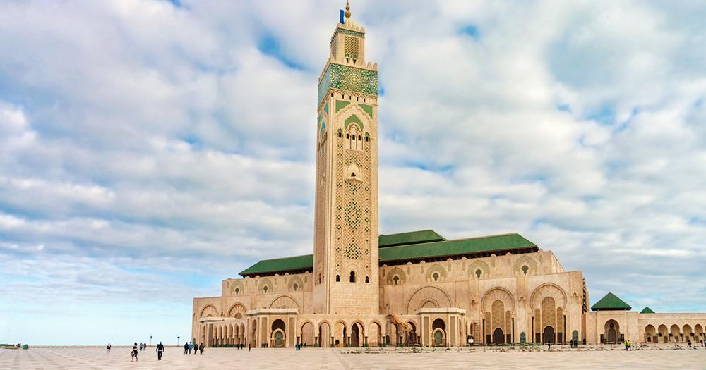 Casablanca - Moschee Hassan II