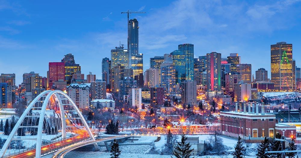 Edmonton - im Winter