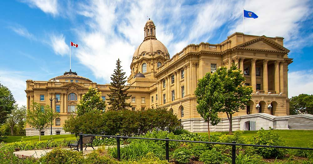 Edmonton - Alberta Legislature Building