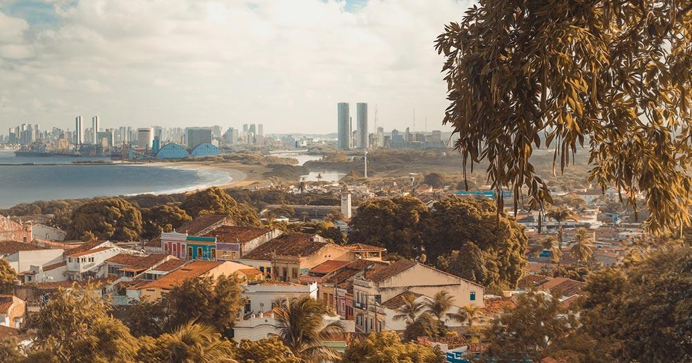 Recife - Sonnenuntergang