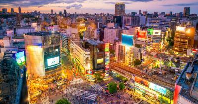 Tokio - Blick auf die Skyline