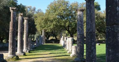 Olympia - Säulen