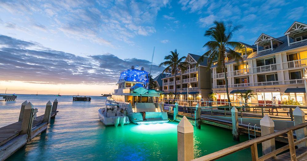 Fort Myers - Pier in der Abendsonne