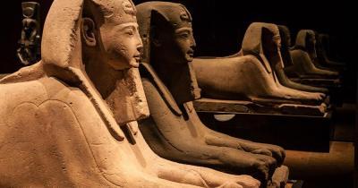 Ägyptisches Museum Kairo - Spinx Statuen