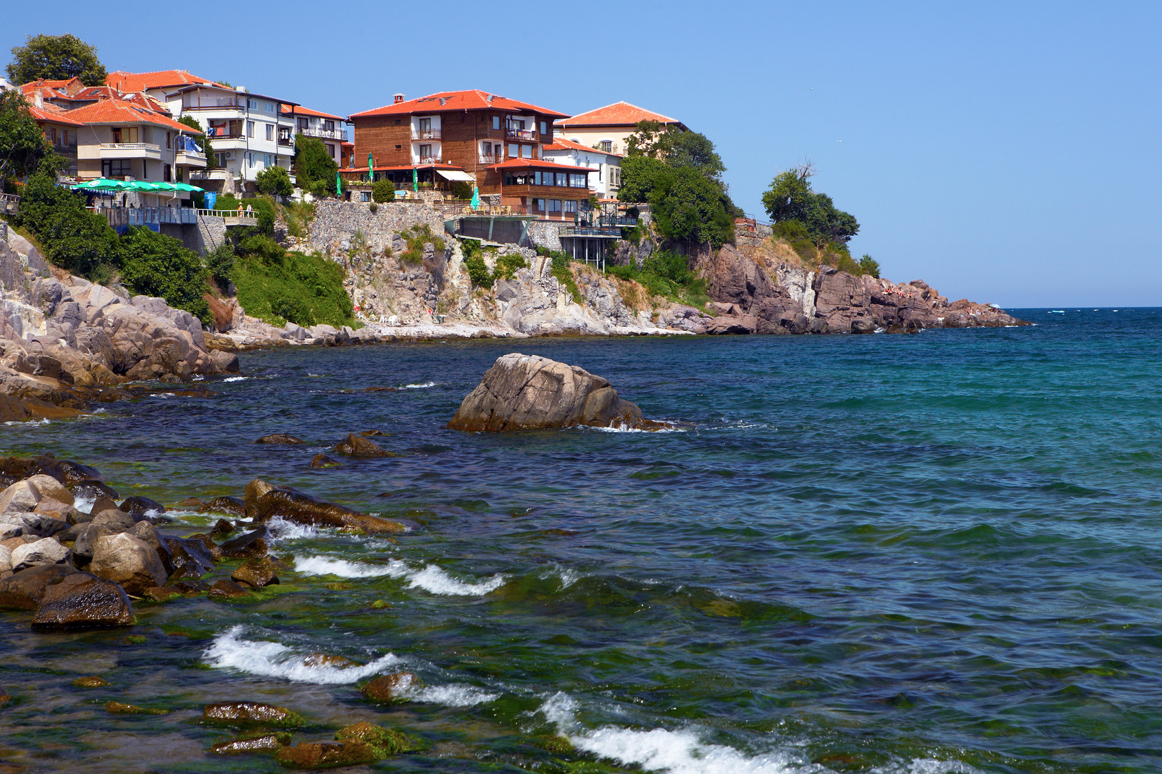 Goldstrand - Die Felsenküste Bulgarien