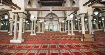 Al-Azhar-Moschee - Innenraum
