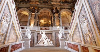 Kunsthistorisches Museum Wien - Stiegenaufgang
