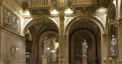 Wiener Staatsoper - Innenaufnahme