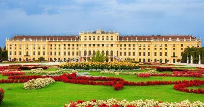 Schloss Schönbrunn - Frontansicht