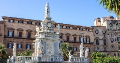 Cappella Palatina - Statue