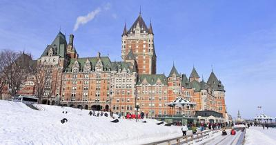 Chateau Frontenac - im Winter