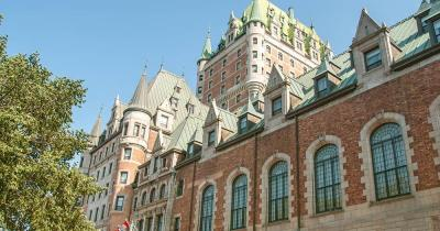Chateau Frontenac - Frontansicht