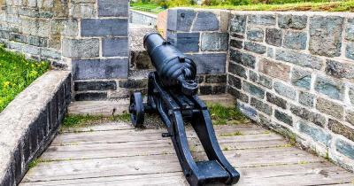 Zitadelle von Quebec - Kanone