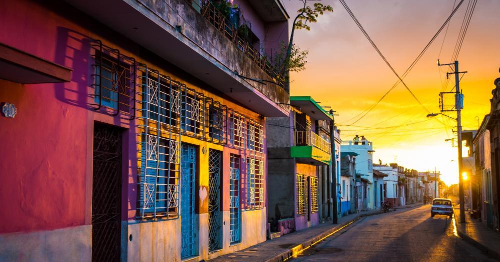 Kuba - Blick auf die Häuser