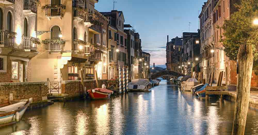 Venedig - In der Abenddämmerung