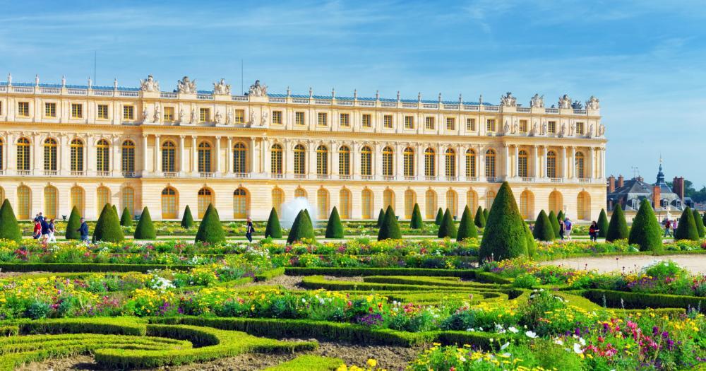 Paris - Blick auf den Palast Versailles
