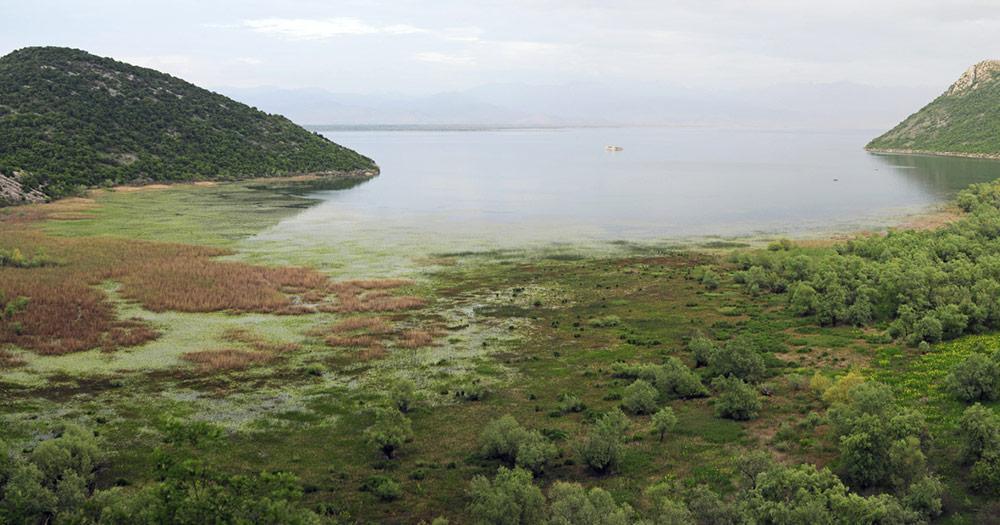 Skutarisee - Panoramablick