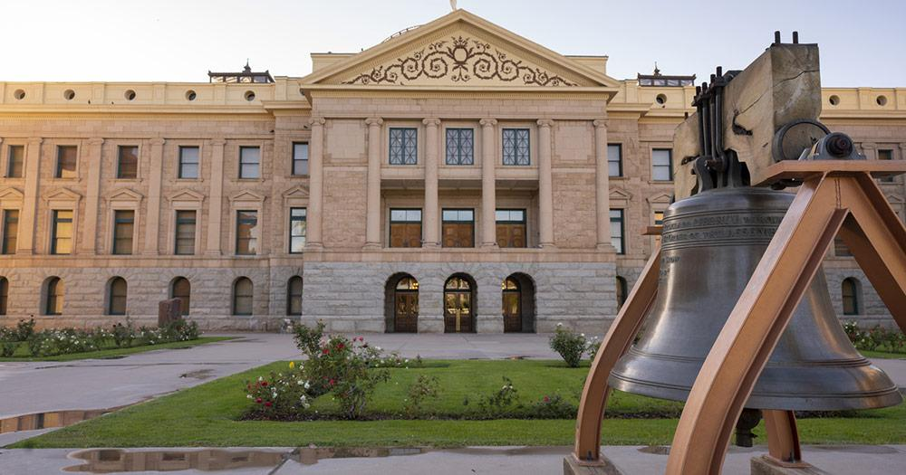 Phoenix - State House und Liberty Bell