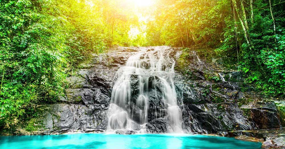 Khao Lak - Sai Rung Wasserfall